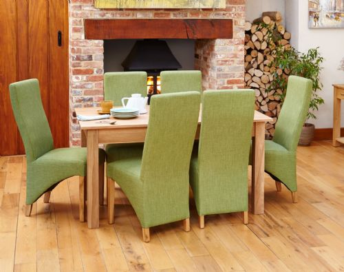 Mobel Oak Large Dining Table